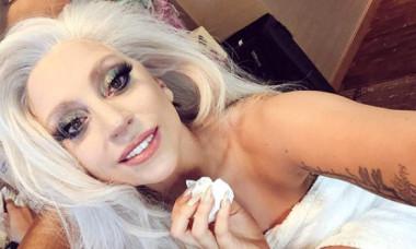"""Lady Gaga și-a făcut tatuaj greșit. """"Asta se întâmplă când bei prea multă tequila"""""""