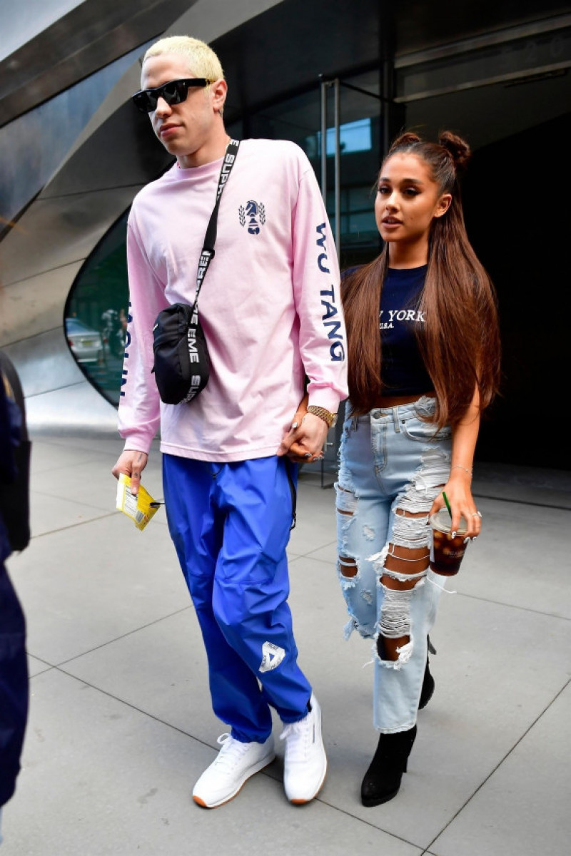 Ariana Grande and Pete Davidson head to her concert in New York