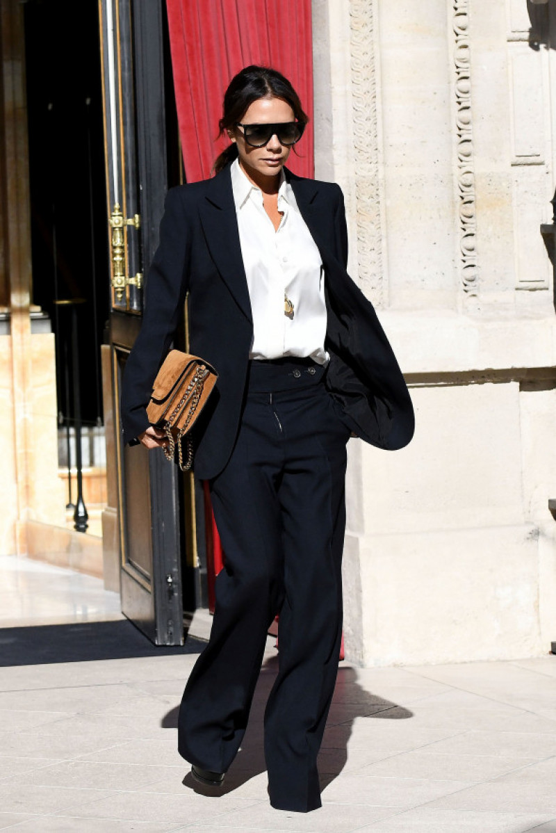 Victoria Beckham in Paris