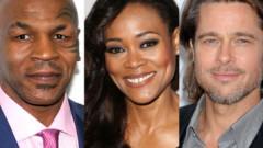 """Brad Pitt, aventură cu soția lui Mike Tyson. Actorul a fost amenințat cu bătaia de """"Iron Mike"""""""