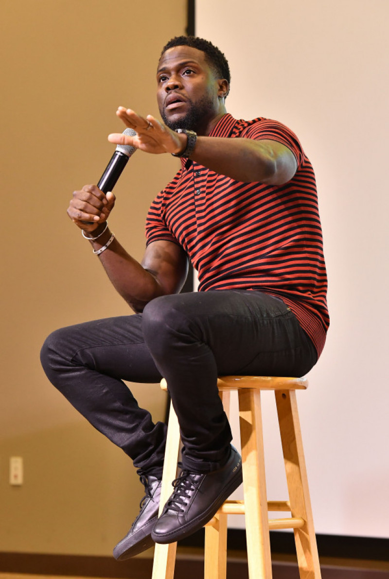 Kevin Hart discurs la evenientul 'REAL Talk' Event