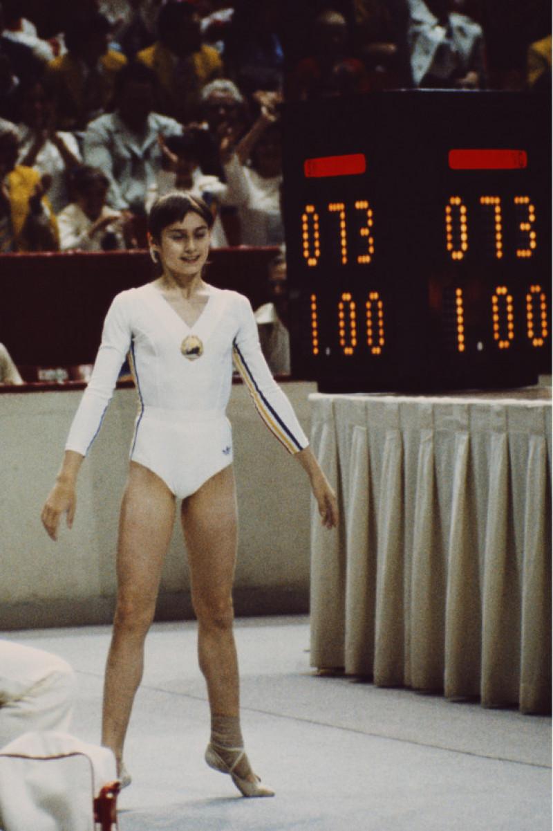 Nadia Comaneci, nota 10, Montreal