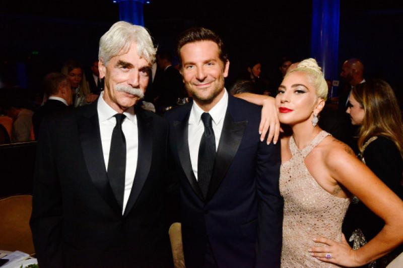 Sam Elliott, Bradley Cooper și Lady Gaga