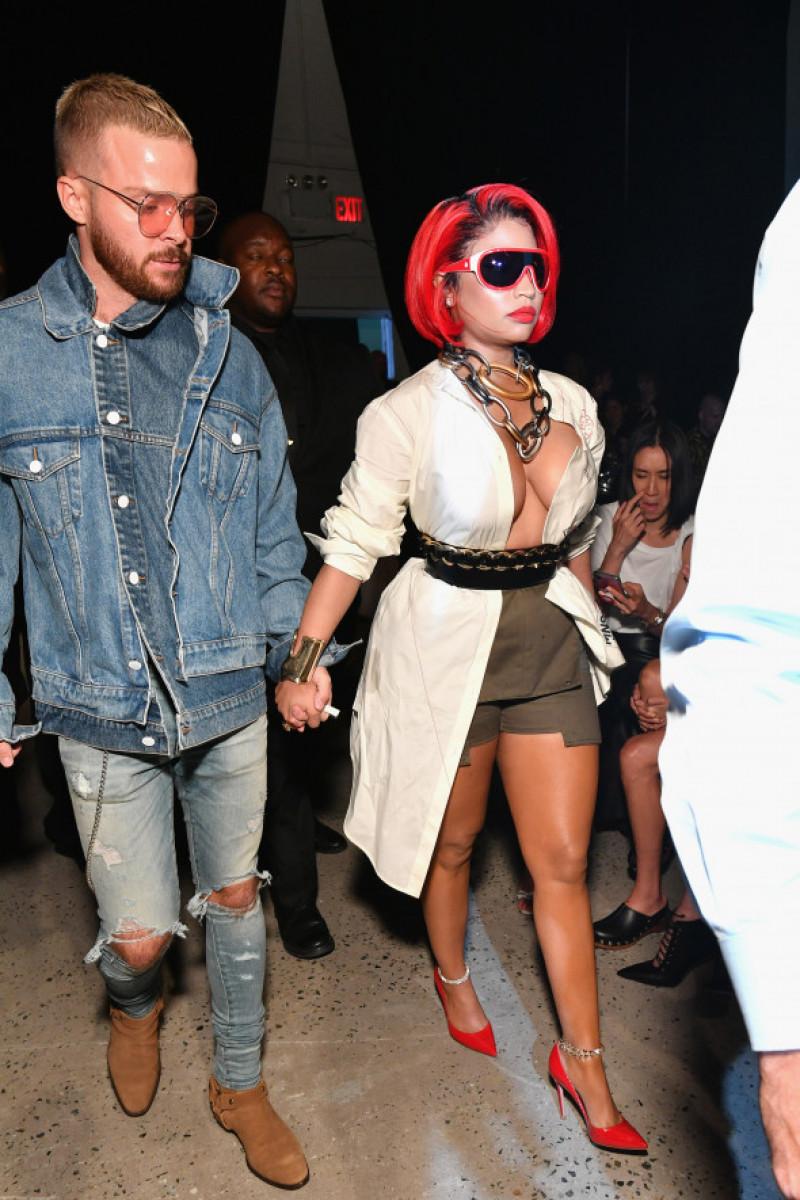 Nicki Minaj alături de Kenneth Petty