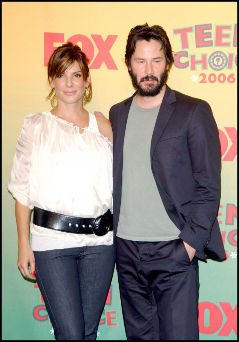 Sandra Bullock și Keanu Reeves la Teen Choice Awards 2006