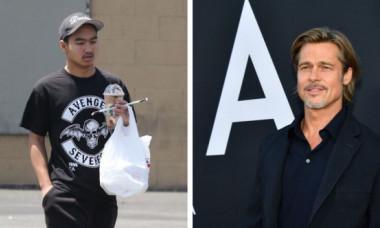 Maddox Jolie-Pitt vorbește pentru prima dată despre complicata relație cu tatăl lui, actorul Brad Pitt, după altercația din avion