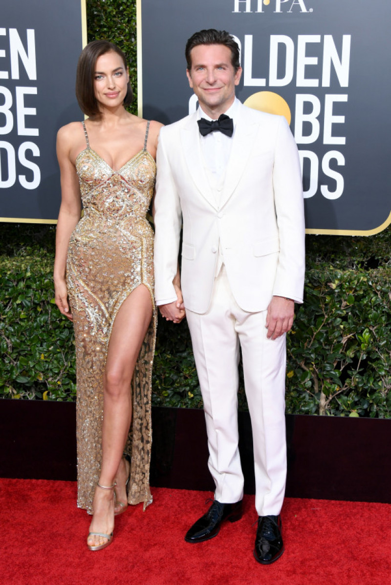 Irina Shayk și Bradley Cooper, Globurile de Aur 2019