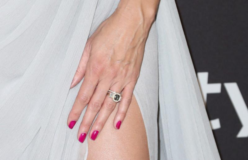 Heidi Klum, inel de logodnă, Globurile de Aur