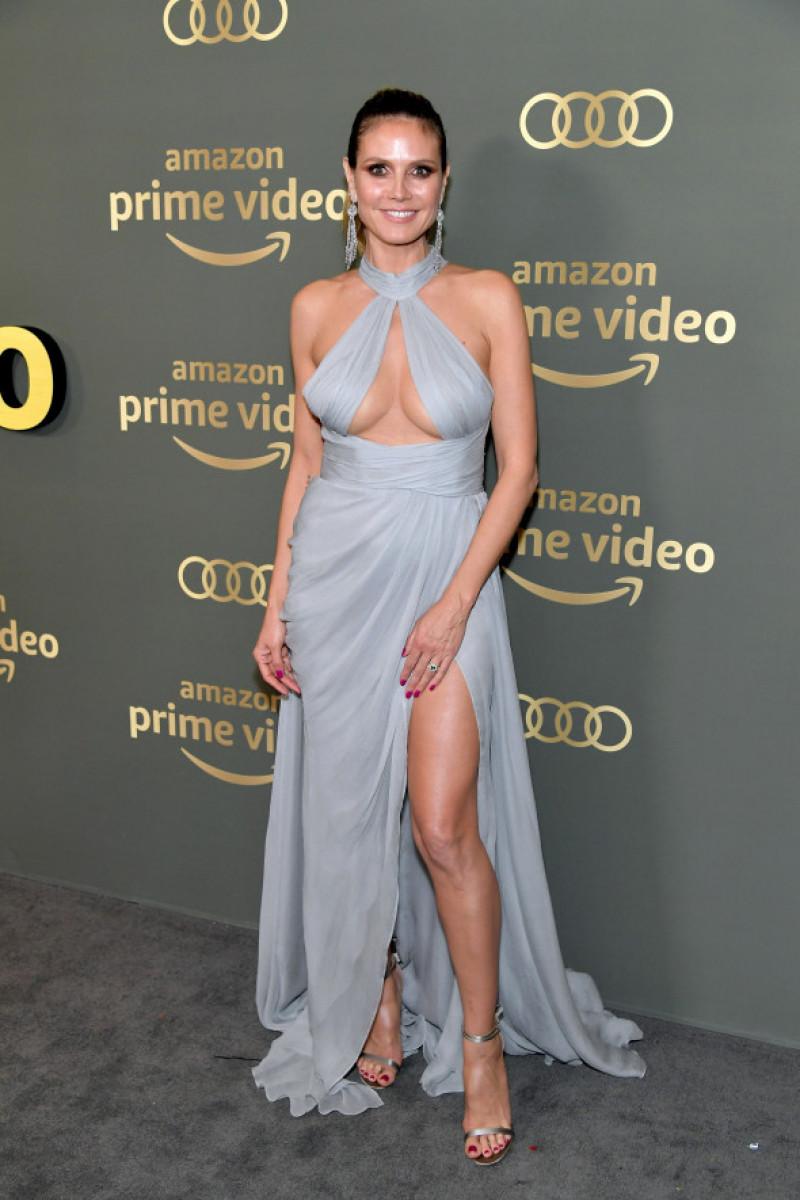 Heidi Klum, ținută petrecere Globurile de Aur