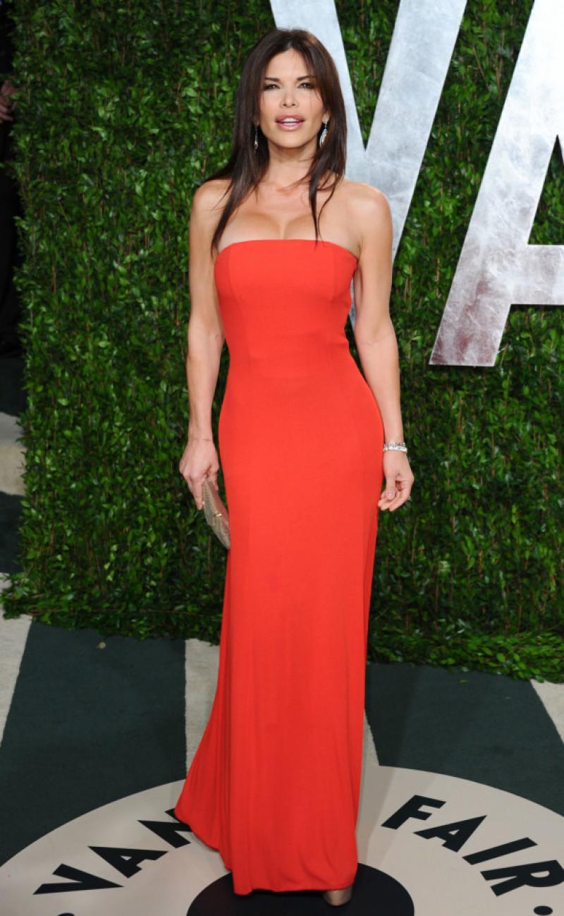 Lauren Sanchez la petrecerea Vanity Fair 2012