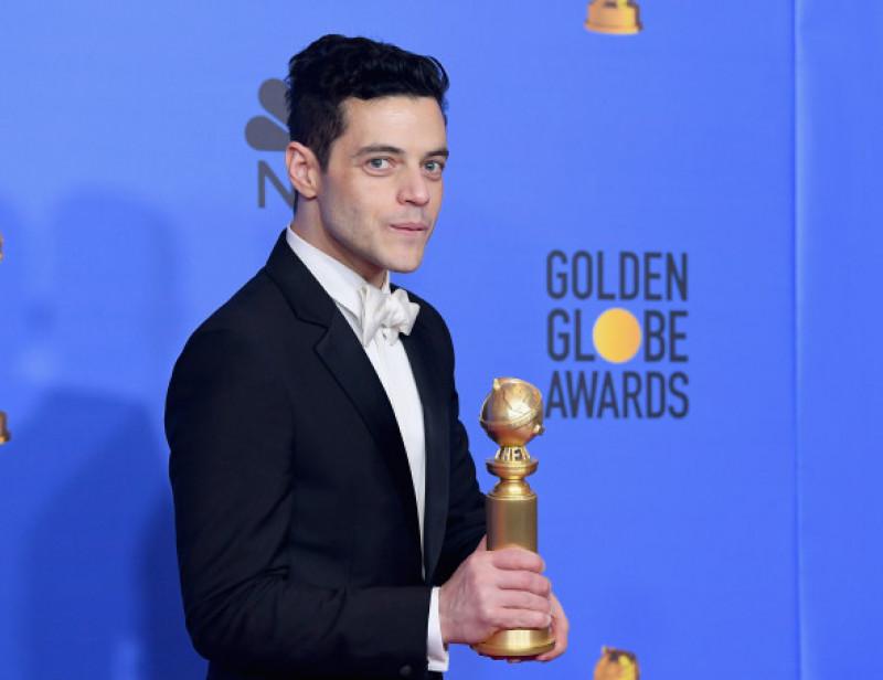 Rami Malek la Globurile de Aur 2019