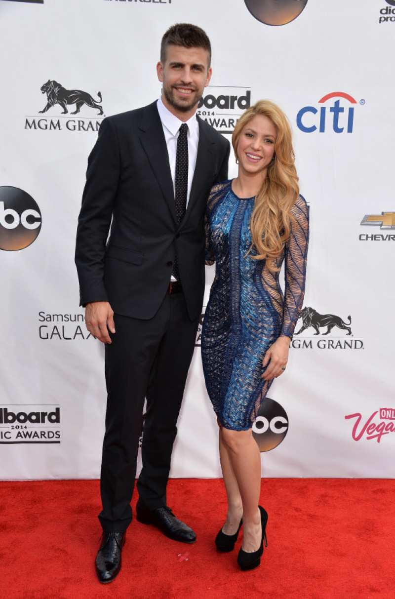 Gerard Pique și Shakira la Billboard Music Awards 2014