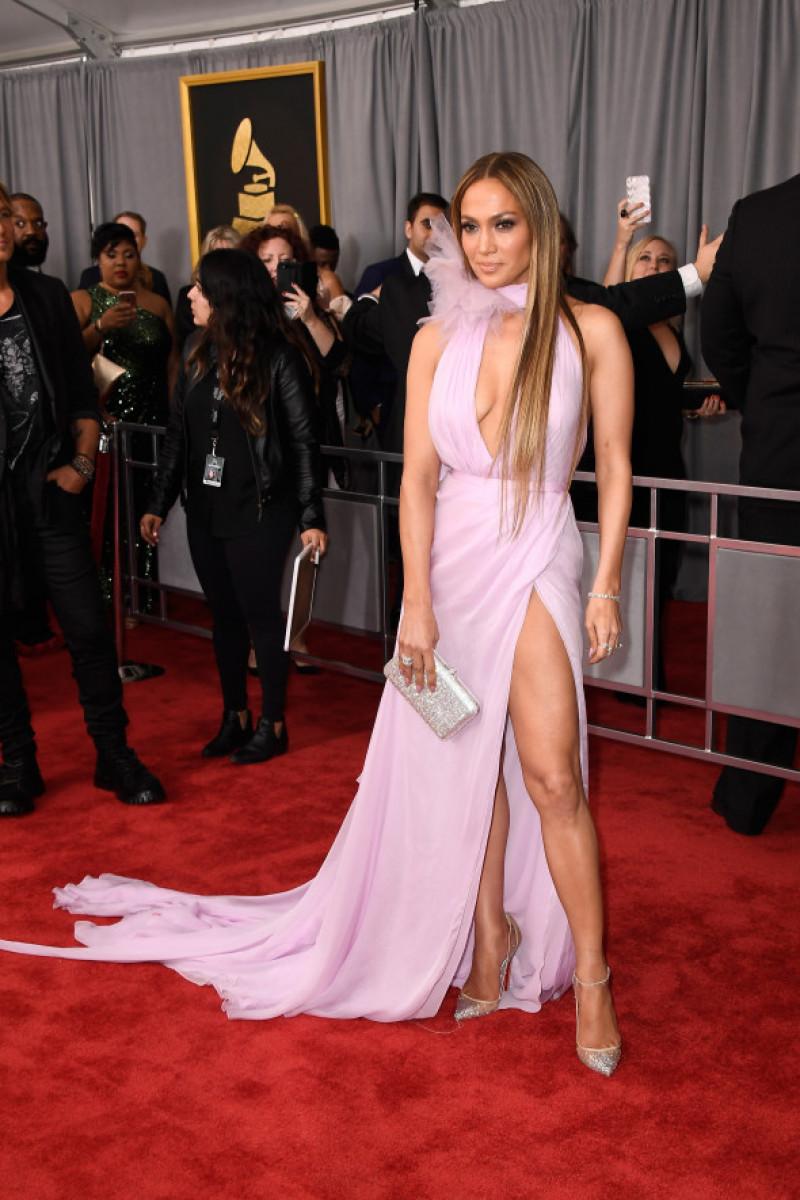 Jennifer Lopez la premiile Grammy din 2017