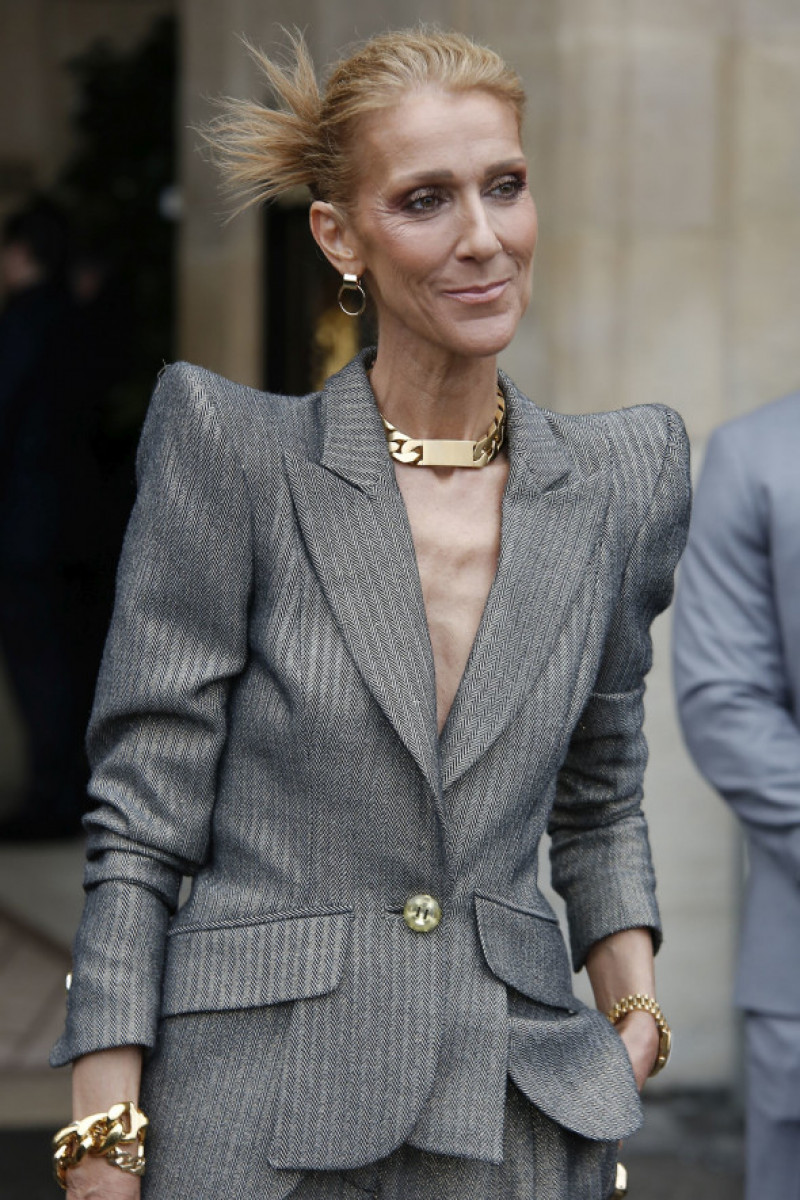 Celine Dion săptămâna modei de la Paris