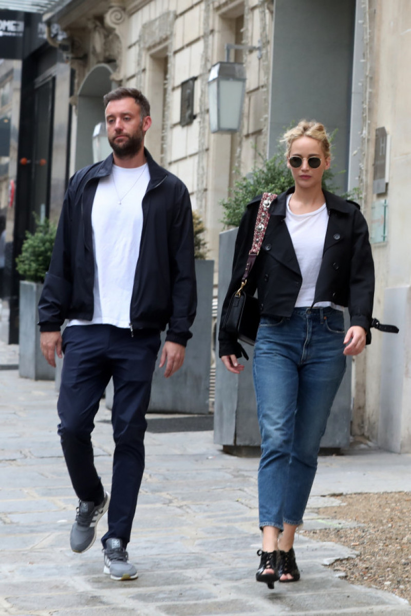 Cooke Maroney Jennifer Lawrence la Paris