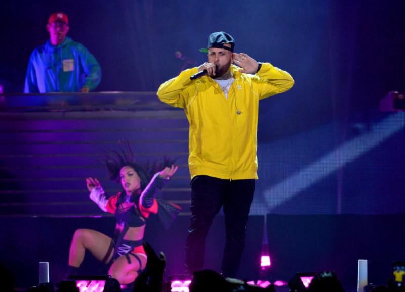 Nicky Jam concert iHeartRadio Fiesta Latina