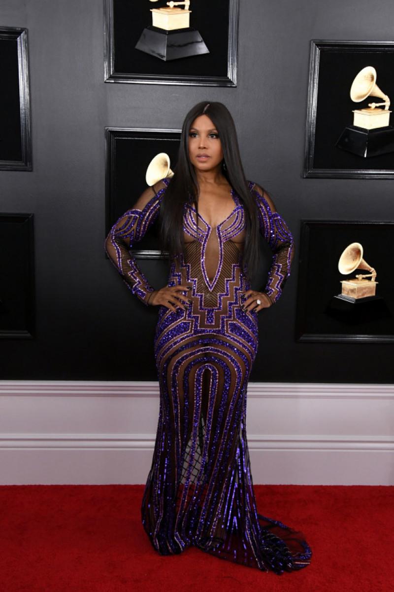Toni Braxton ținută premiile Grammy 2019