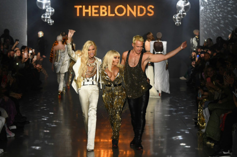 Lil'Kim prezentare The Blonds - Runway - February 2019 - New York Fashion Week: The Shows