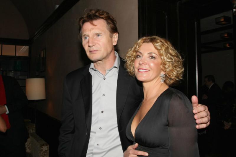 Liam Neeson Natasha Richarson Festivalul de Film Tribeca