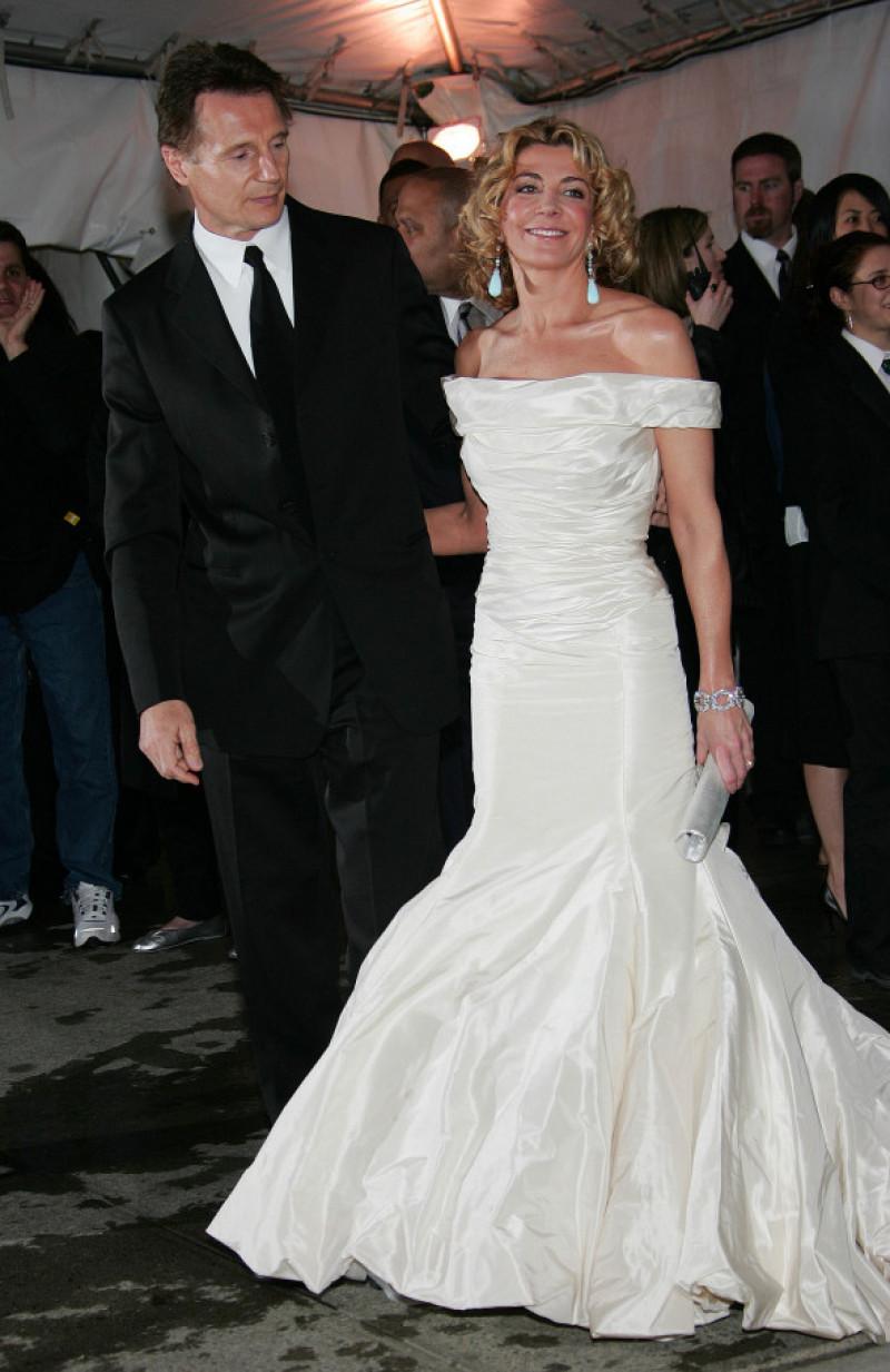 Liam Neeson și Natasha Richardson la MET Gala