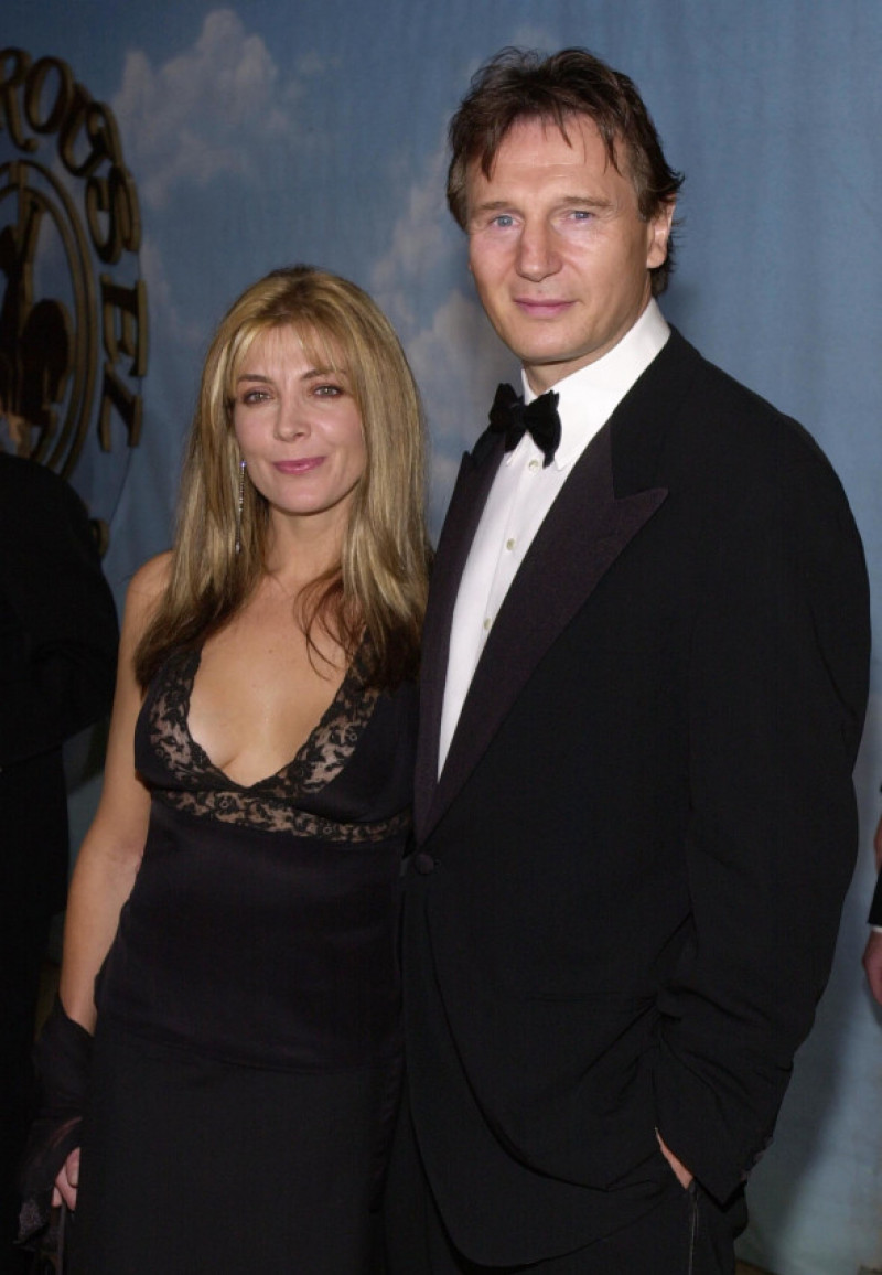Natasha Richardson și Liam Neeson la un eveniment caritabil