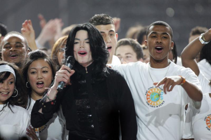 Michael Jackson concert la World Music Awards