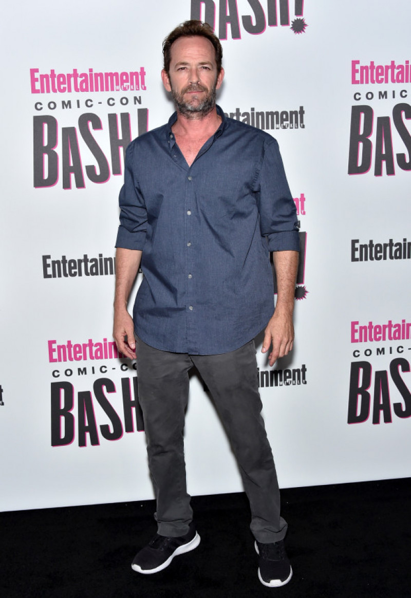 Luke Perry Comic-Con 2018