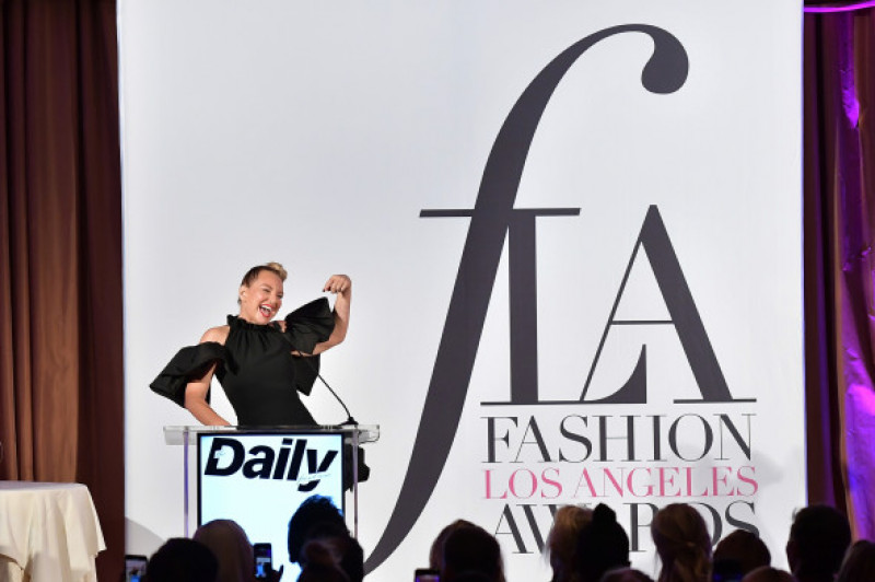 Sia discurs la The Daily Front Row Fashion LA Awards 2019