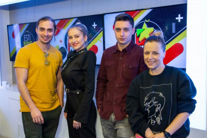 Sebastian Coțofană, Ester Peony, Radu Țibulcă, Mădălina Petre