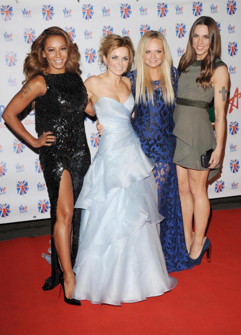 Spice Girls la petrecerea Viva Forever