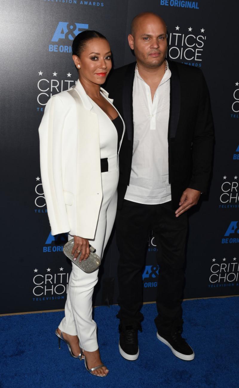 Mel B cu Stephen Belafonte la Critics' Choice Television Awards