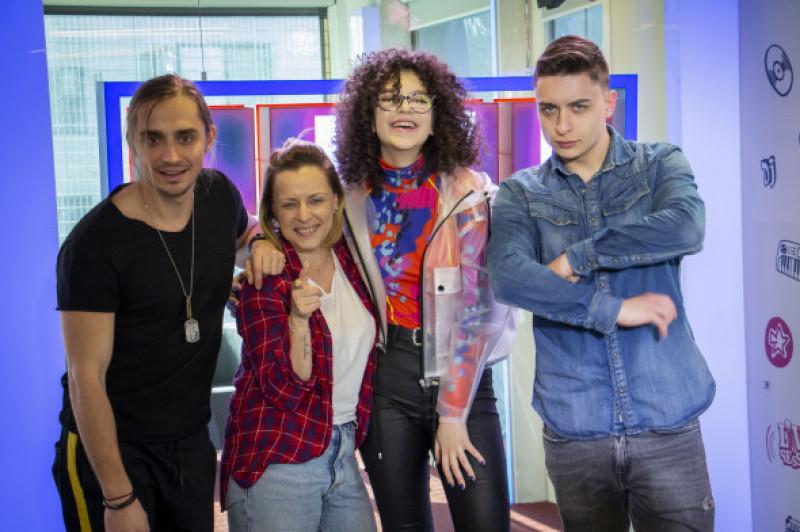 Sebastian Coțofană, Mădălina Petre, Cleopatra Stratan, Radu Țibulcă Dimineața Blană