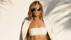 Jennifer Lopez a purtat o ținută creată de un designer român pentru o ședință foto plină de stil