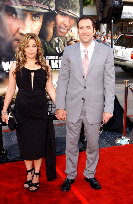 Nicolas Cage și Lisa Marie Presley