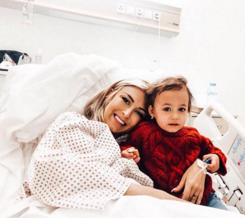 andreea bălan ella pe patul de spital