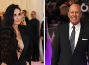 Bruce Willis, în autoizolare cu fosta soție Demi Moore. Fotografia care i-a surprins pe mulți