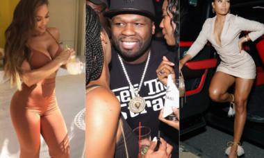 Colecție de iubite superbe. 50 Cent se mândrește cu cele mai frumoase partenere, iar ultima le întrece pe toate