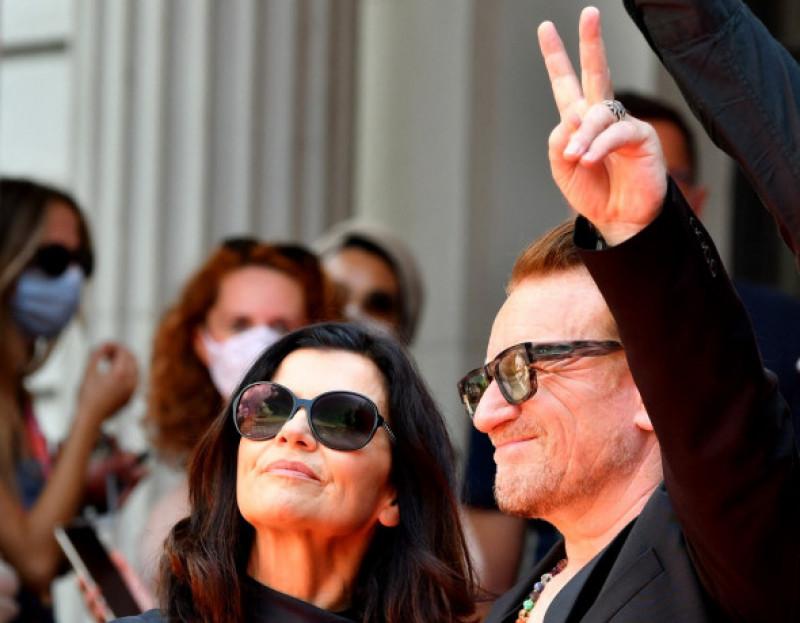 Bono și Ali Hewson