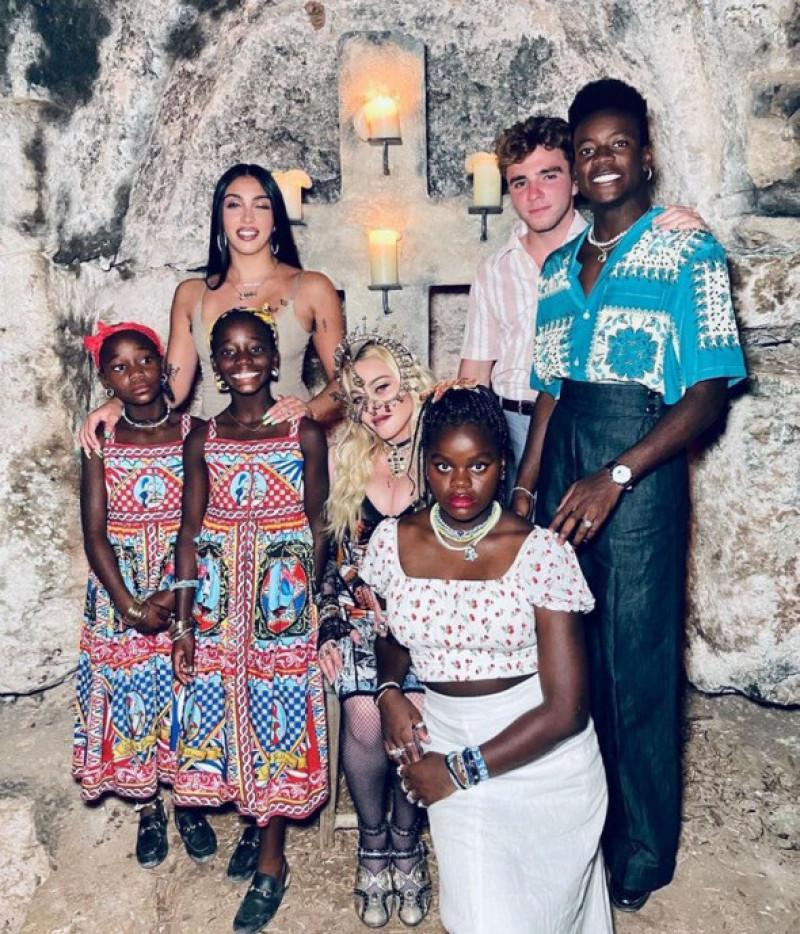 madonna si copiii ei
