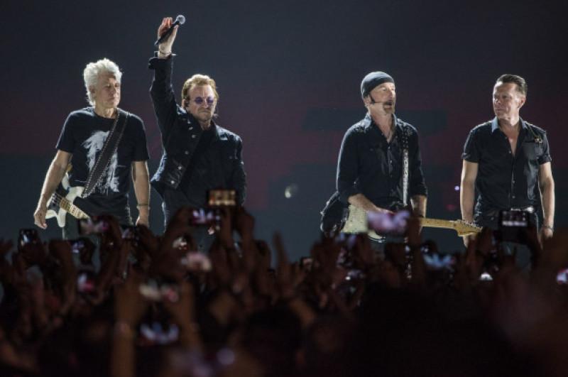U2 concert in Mumbai, India - 15 Dec 2019