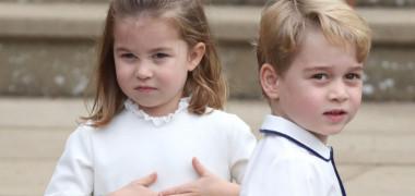 Care este porecla pe care Printul George a primit-o de la colegii sai de scoala