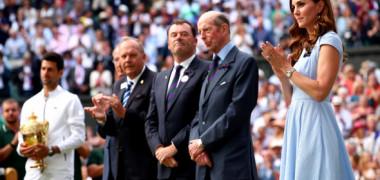 Cadoul special pe care Kate Middleton l-a primit la Wimbledon pentru Printul Louis