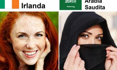 """Cum arată """"femeia ideală"""" în 11 țări diferite. Care sunt standardele de frumusețe în culturile lumii"""