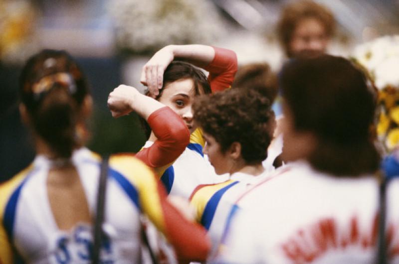aurelia dobre campionatul mondial de gimnastica 1987