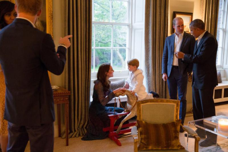 Palatul Kensington, Ducii de Cambridge, familia Obama