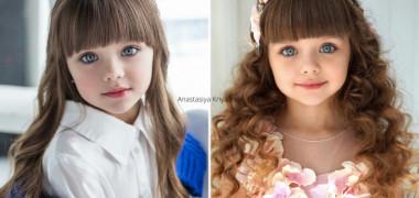 Cea mai frumoasă fetiță din lume a crescut. Cum arată acum Anastasiya Knyazeva: FOTO