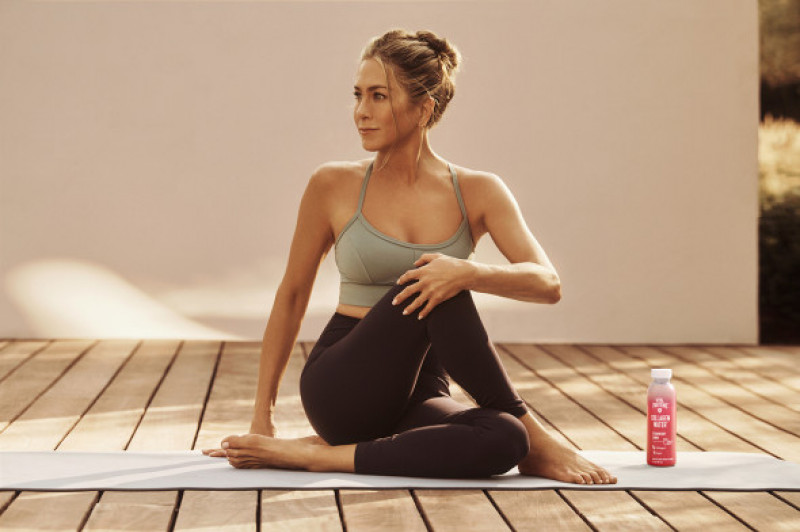 Jennifer Aniston, 51, shows off her toned tum in sexy campaign shoot as she joins collagen brand Vital Proteins