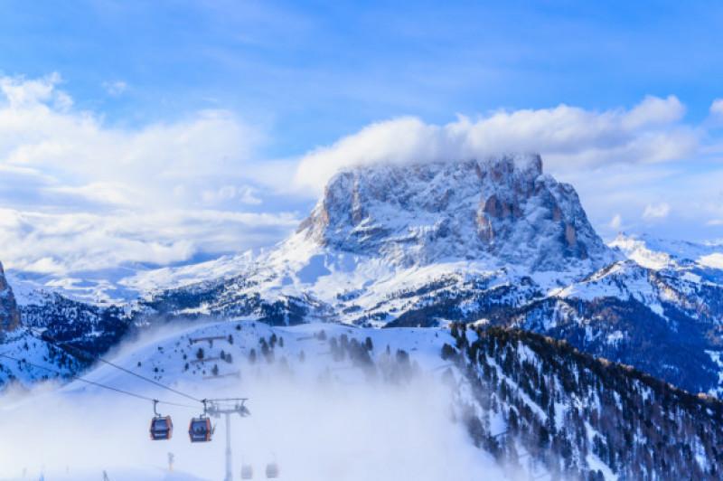 Cele mai frumoase stațiuni de schi din Europa- Val Gardena