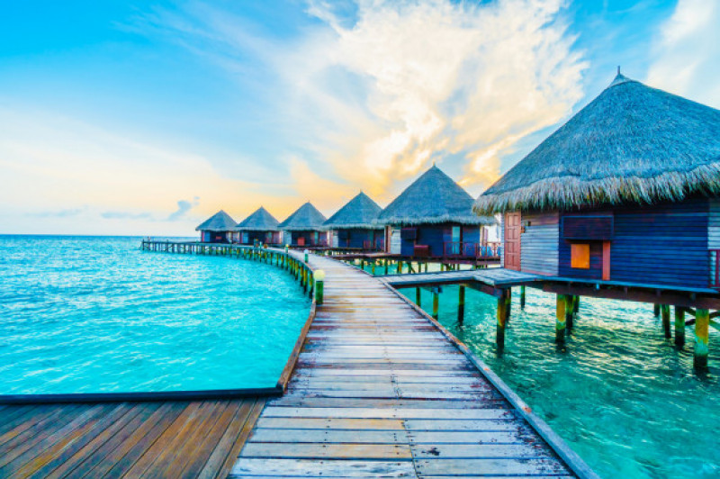 Vacanțe exotice 2021. Unde poți merge la plajă la început de an - Maldive