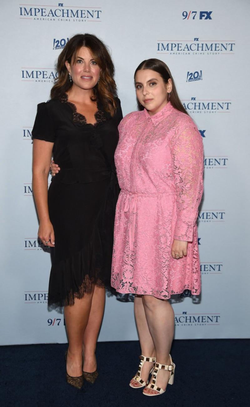 Monica Lewinsky și Beanie Feldstein